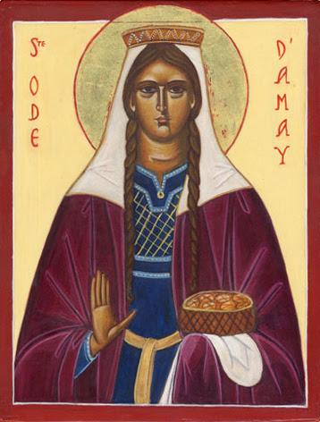 Sainte Ode d'Amay ou Chrodoara († 634)