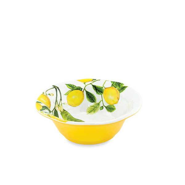 Lemon Basil Serveware Medium Bowl