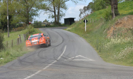 Dunlop Targa Rally New Zealand  Day 2 Results