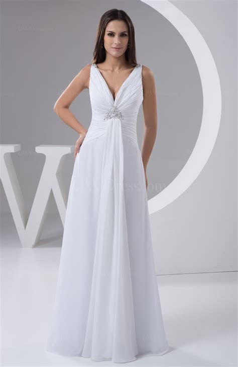 White Allure Bridal Gowns Beach Sexy Winter for Less