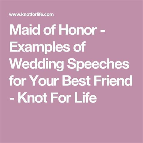 25  best ideas about Wedding Speech Examples on Pinterest