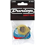 Dunlop PVP101 - 12 Pick Variety Pack (Medium-Light)