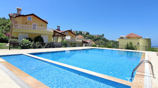 Fully furnished detached villa for sale in Alanya, Kargıcak