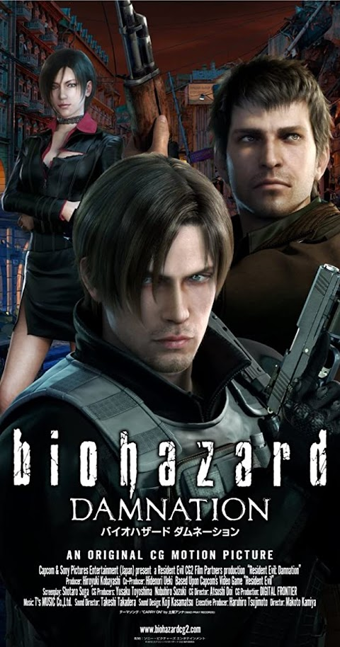 Resident Evil : Damnation(2012) 480p 720p BluRay Dual Audio (Hindi+English) Full Movie