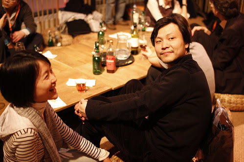 Ying Liang and Fei Ling at Water Tiger Inn