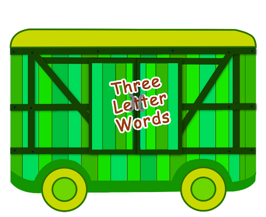 Phonics Sounds Bogie 2: THREE LETTER WORDS