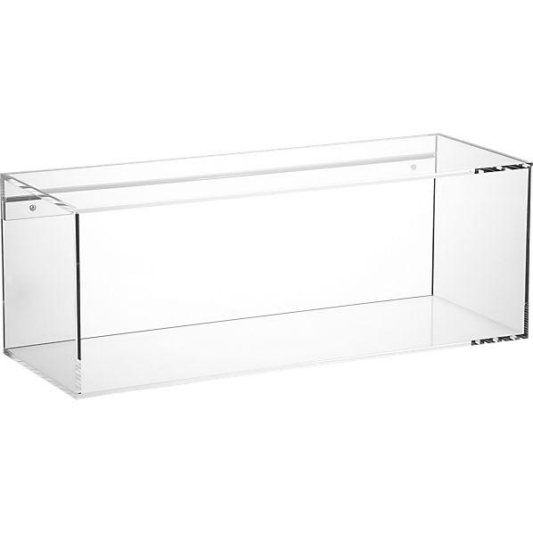 format storage shelf | CB2