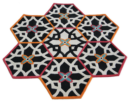 Hexa rug collection - Contemporary - Area Rugs - london - by Maria Starling Design