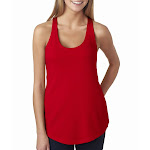 Next Level 6933 - Ladies Terry Racerback Tank - Red