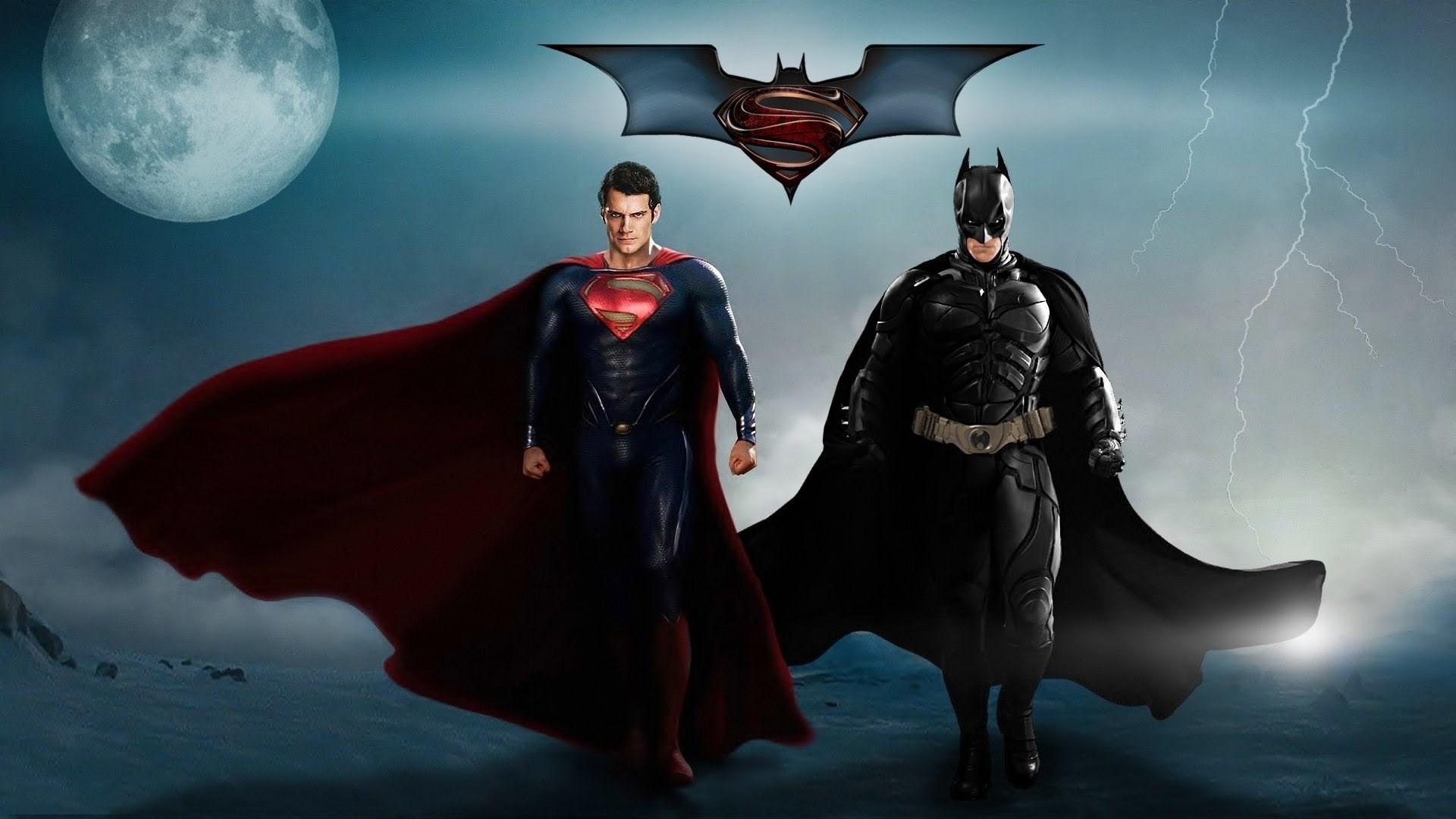 Superman And Batman Wallpaper 77 Images