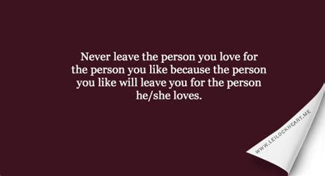 How To Leave Someone You Love Quotes