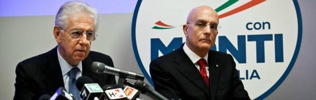 Mario Monti e Gabriele Albertini