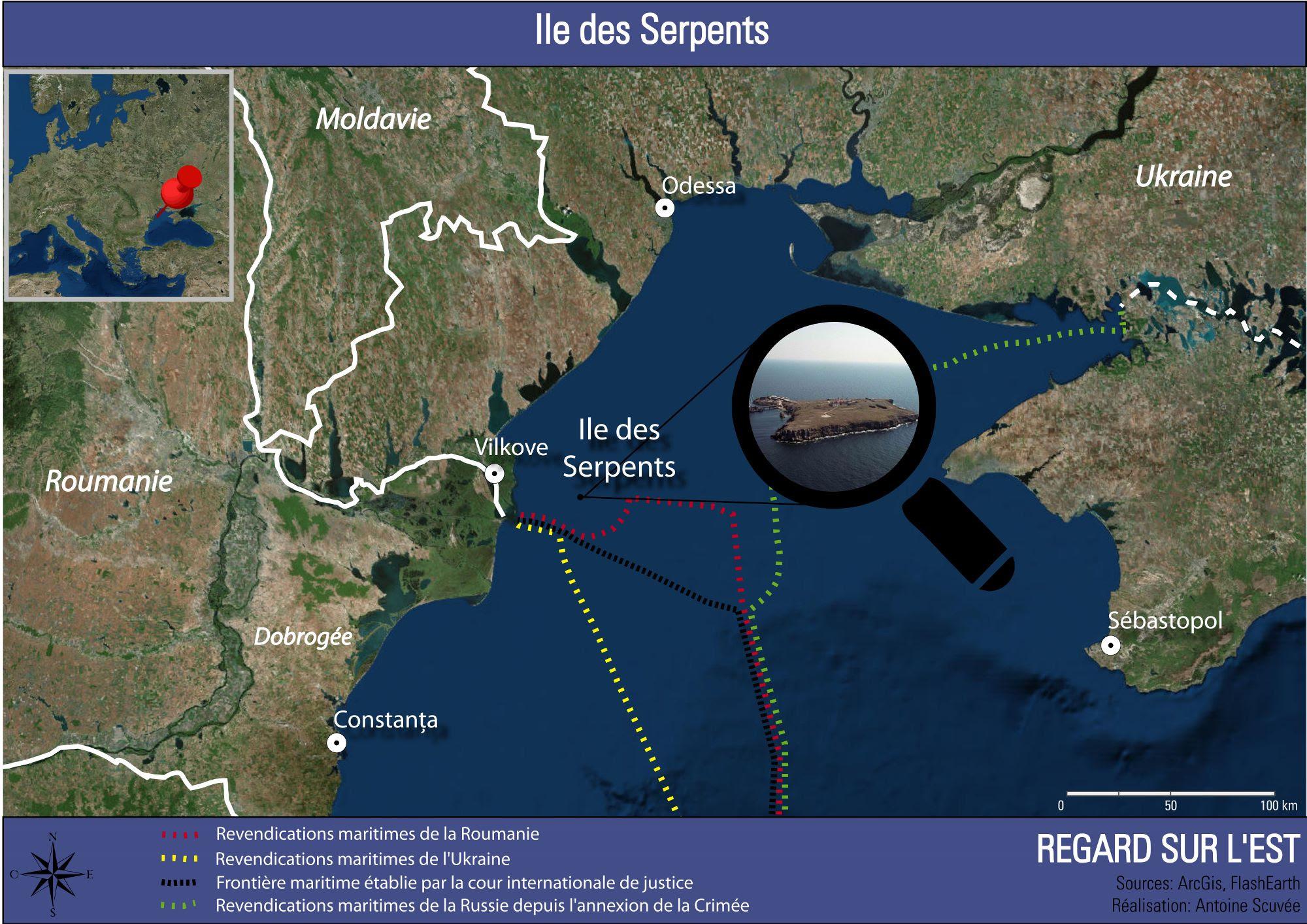 """Résultat de recherche d'images pour """"île du Serpent mer noire"""""""