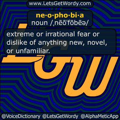 neophobia 04/10/2014 GFX Definition