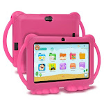 7INCH Kids Tablet 1GB,16GB Quad Core Kids learning tablet Tablet and red / United States