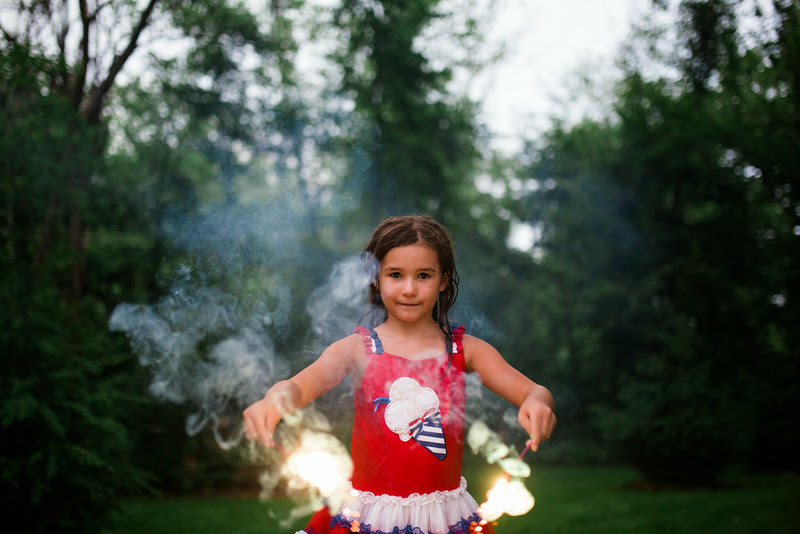 Fourth of July celebration in Roscoe IL by Portrait and lifestyle photographer, Mindy Joy Photography