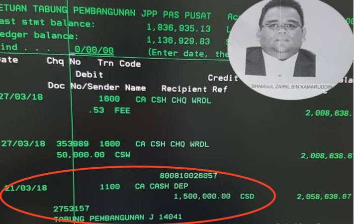 UMNO Donations To PAS Were Used To Pay Election Deposits - EXCLUSIVE