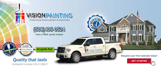 Painting contractor,house painters South Walpole MA,interior exterior painting South Walpole MA – Vision Painting