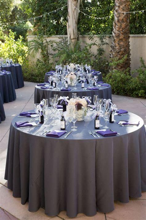 Purple and Gray DIY Wedding {Peterson Design & Photography