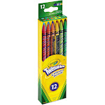 Crayola Twistables - Mechanical pencil - assorted colors - 2 mm - retractable - pack of 12