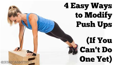 easy ways  modify push ups