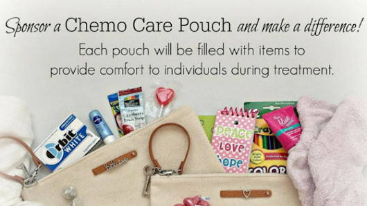 Chemo Care Pouch Project - My Pocketful of Thoughts