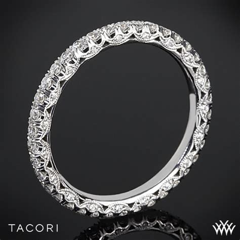 Tacori Classic Crescent Eternity Scalloped Millgrain