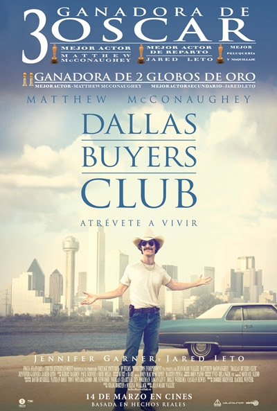 Cartel de Dallas Buyers Club (Dallas Buyers Club)