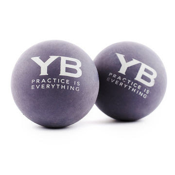 Yoga Massage Balls X2 Hurts So Good By Yogabody Natural Rubber
