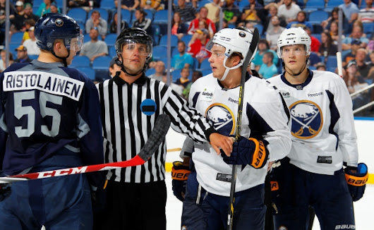 RECAP: BLUE & WHITE SCRIMMAGE - Buffalo Sabres - Blogs - Beyond the Boards