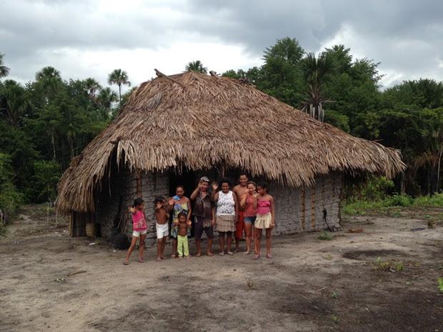 Família de Raimundo e Maria do Socorro (Foto: Clarissa Carramilo/G1)