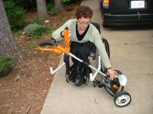 Wheelchair Lawnmower Assistive Technology Design Projects
