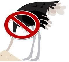 No Ostriches!