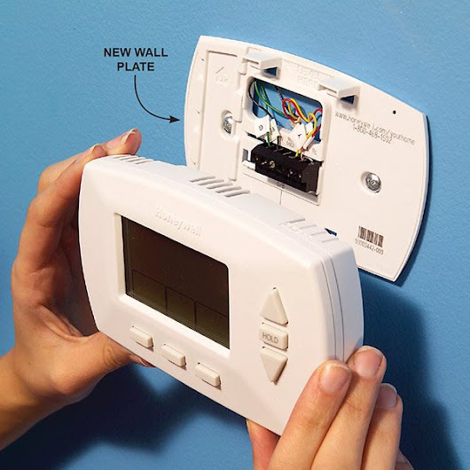 Install a Programmable Thermostat for Energy Savings | The Family Handyman