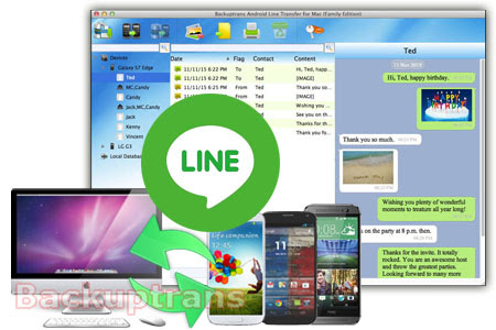 Backup, Restore and Transfer Line Chat History for Android