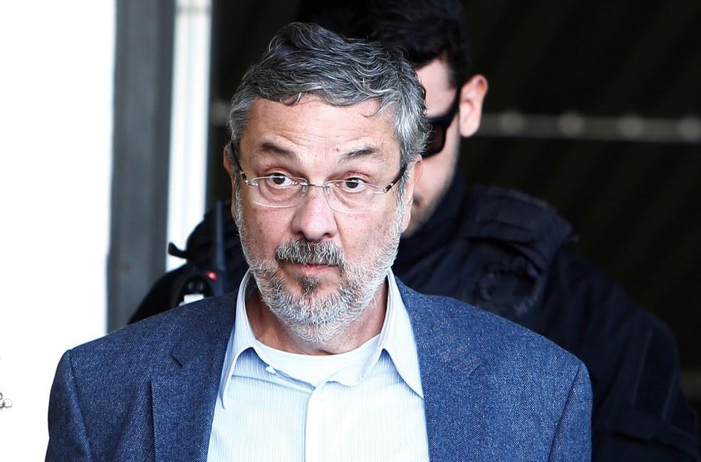 O ex-ministro da Fazenda Antonio Palocci, preso desde setembro do ano passado (Foto: Rodolfo Buhrer/Reuters )