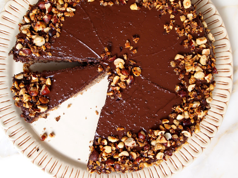 Flourless Chocolate Hazelnut Cake Earthy Feast