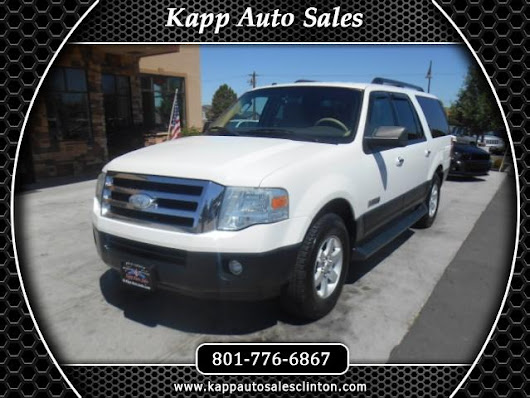 Used 2007 Ford Expedition EL XLT 2WD for Sale in Clinton UT 84015 Kapp Auto Sales
