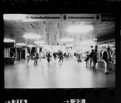 Shopeville im Zürcher Hauptbahnhof 1985 oder 1986