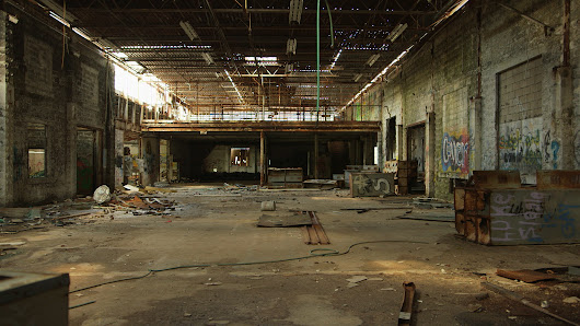 Image: Took a trip to an abandoned warehouse. It was amazing! Video in ...