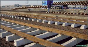 ca 720 m neue Schienen, inkl. gebogenen Schienen, ca. 400 Stück Holzschwellen in verschiedenen Längen, Befestigungsmaterial