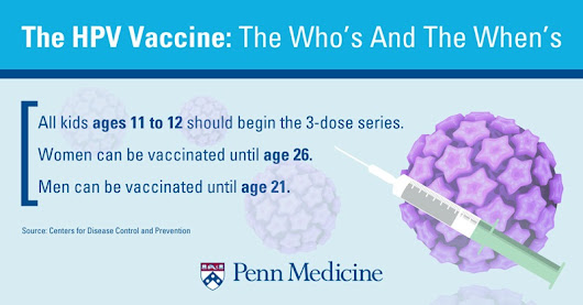 6 Myths About The HPV Vaccine Dispelled – Penn Medicine