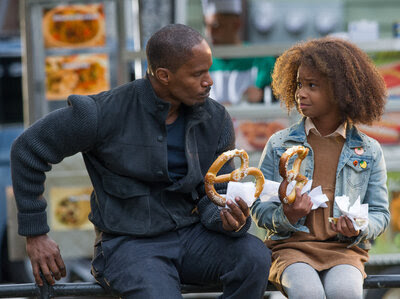Jamie Foxx and Quvenzhané Wallis star in the latest incarnation of the musical Annie.