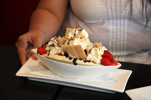 The Chocolate Room's Banana Split