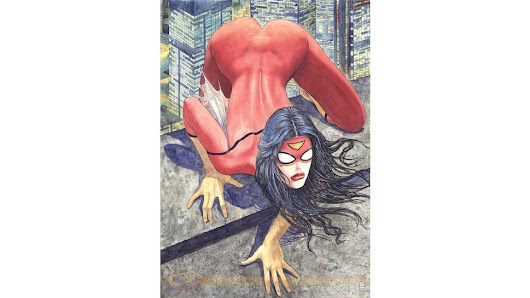 Marvel Cancels Artist's Upcoming Covers After Spider-Woman Butt Fiasco