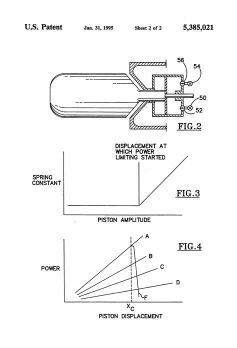 Patent US5385021 - Free piston stirling machine having