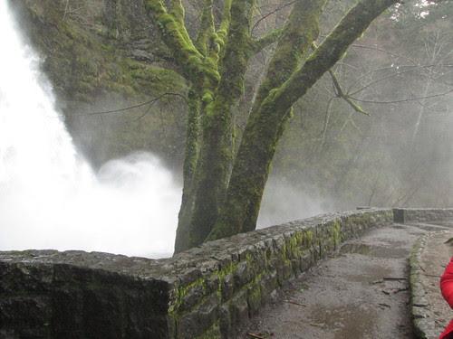 Horsetail Falls spray