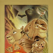 Ben Curtis Jones Circle of Life From Lion King  Giclee On Canvas