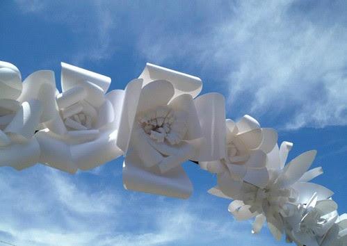 Paper-Flower-Wedding-Arbor