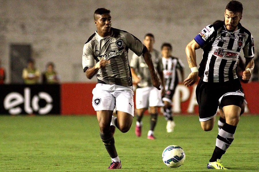 Botafogo joga por um 0 a 0 ou 1 a 1 no jogo de volta - Ademar Filho/Futura Press/Folhapress